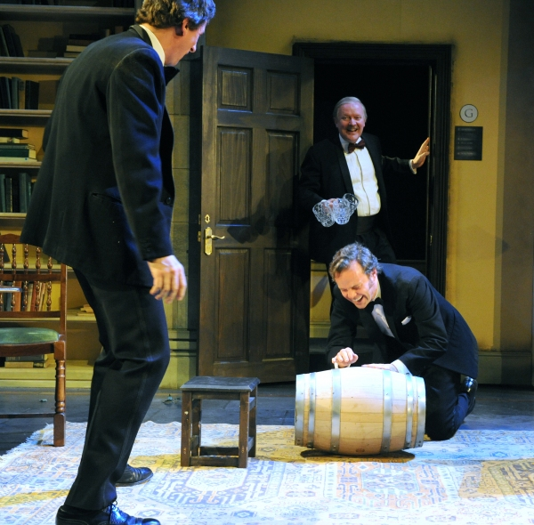 Nicholas Rowe (Buckle), Simon Coates (Tate), and Jamie Glover (Headingly)